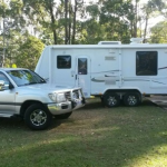 Jayco Sterling 2010 with Toyota Land Cruiser